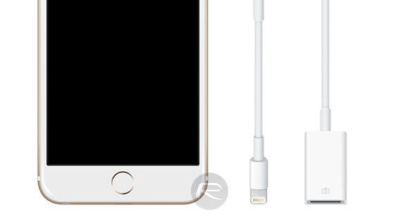 iOS 9.2 podrzava ubacivanje slika u iPhone preko 'lightning to USB' adaptera, Phone4u