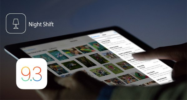 Lista iPhone, iPod Touch i iPad uredjaja koji podržavaju Night Shift mod na iOS 9.3