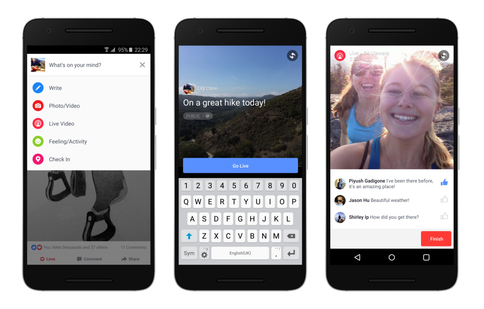 Facebook uvodi live streaming video za Android