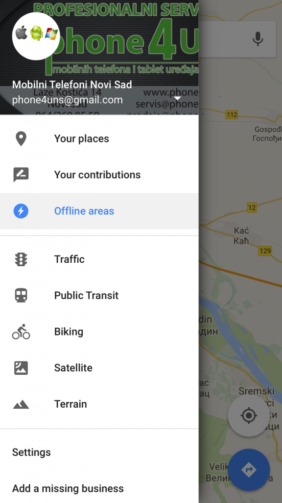 Preuzmite Google maps za iPhone i koristite aplikaciju bez internet konekcije
