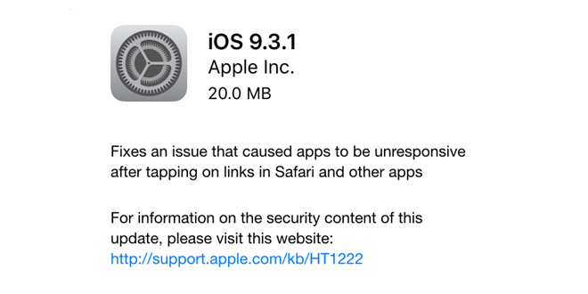 Izašao je iOS 9.3.5 – slobodan update za sve koji koriste R sim