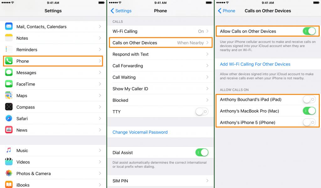 Kako sprečiti druge apple uredjaje da zvone kada dobijate poziv na iPhone?, Phone4u