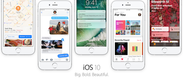 Objavljen je iOS 10. Nove funkcije, datum izlaska i više u članku