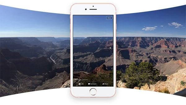 Kako da postavite i pregledate sliku od 360 stepeni na facebook?, Phone4u