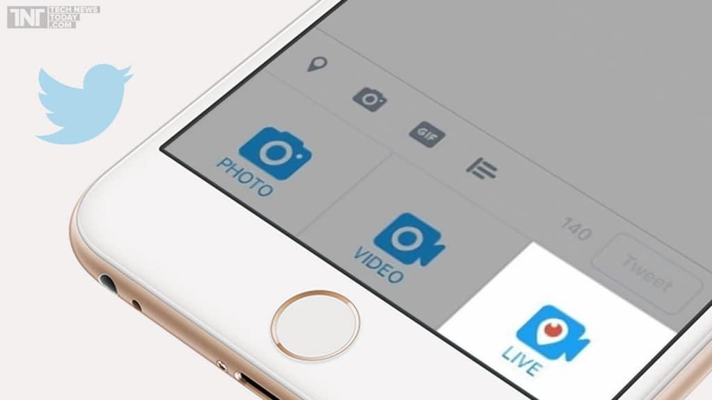 Od sada možete da pravite Live Video na twitteru