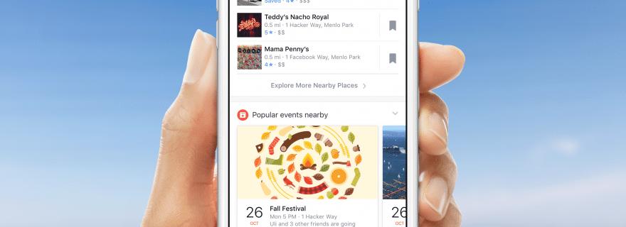 Facebook uvodi vremensku prognozu u mobilnu aplikaciju