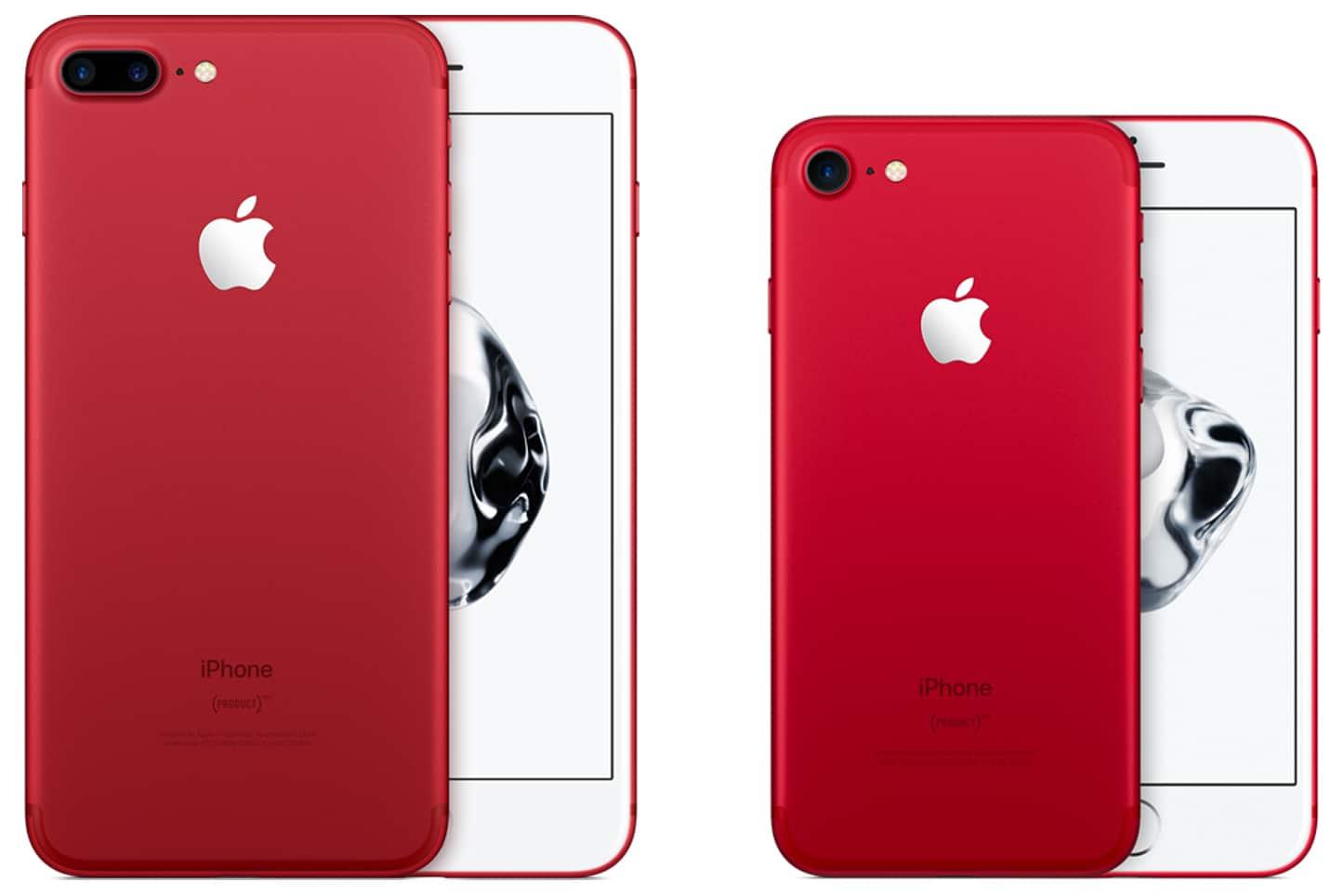 Apple je predstavio novi crveni iPhone 7 i iPhone 7 Plus (PRODUCT) RED