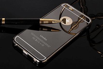 Alu Mirror case iPhone 6+ crna