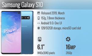 Zamena ekrana za Samsung Galaxy S10, S10 Plus i S10e (lite), Phone4u