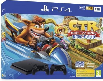 Konzola PS4 1TB + dodatni DS4 + Crash TR