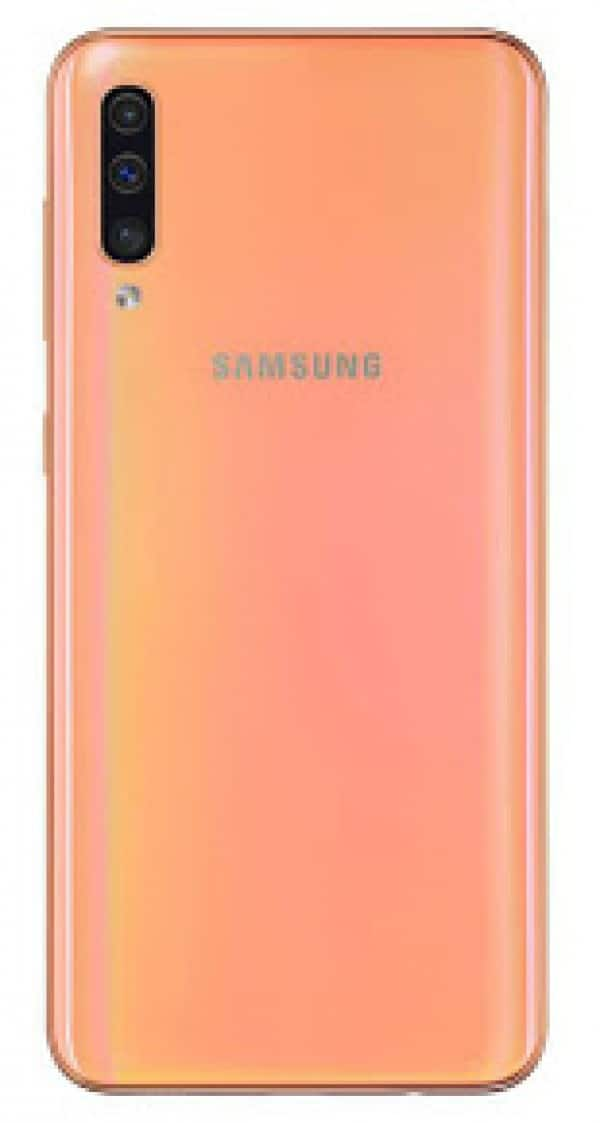 mobilni telefon samsung galaxy a50 narandzasti cena