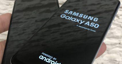zamena ekrana displeja stakla za na samsung galaxy a50 a505 servis cena